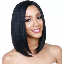 Кружева Superstarer передней парики дешевые синтетические волосы парики дамы коротких волос африканских фигурные парики для чернокожих женщин