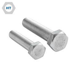304/316/316L tornillos de acero inoxidable SS304 SS316 SS316L DIN933 Cabeza Hexagonal tornillo en U 1.4404 1.4401 1,4301 el perno prisionero Cáncamo