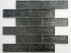 純粋な黒い小さい吠える穀物の穀物の Laminated ガラスモザイクのため 壁ガラス石器モザイク / モザイク OD Kristalnog Stakla / Azulejo / ASTM 金属屋根