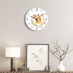 패션 디자인 벽시계 독특한 홈 장식 레트로 시계