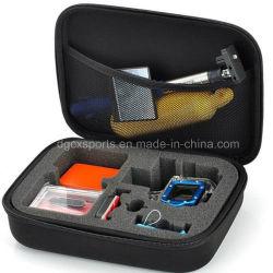 Proteção de transporte quadrado redondo oval Zipper Viagem à prova de choque à prova de água cheiro Ferramentas de nylon à prova EVA caixa de armazenamento em caixa de arrumação em EVA Bolsa para sacos