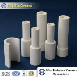 Resistente a alta temperatura Tubo de revestimiento de tubos de cerámica alúmina