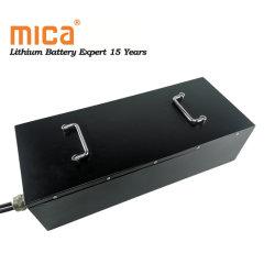 손잡을 곳을%s 가진 Enerage 저장을%s 금속 상자 LiFePO4 건전지 팩 12V 200ah 리튬 건전지
