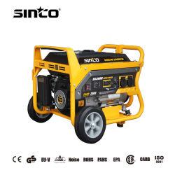 1-8kw 50Hz/60Hz petite puissance silencieuse à démarrage électrique portable générateur à essence avec CE/UE-V/EMC/Certificat de l'EPA