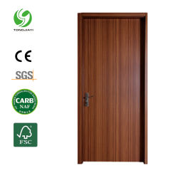 A impressão de Transferência de Calor Zero-Formaldehyde WPC porta da sala interior