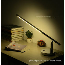 Um moderno design ajustável candeeiro de mesa LED candeeiro de secretária de arte