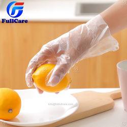 Guanto di plastica trasparente della mano di Oilproof del ristorante del commestibile di pulizia di Eaxm del lavoro medico impermeabile a gettare PE/LDPE/HDPE/TPE/CPE di sicurezza per uso della cucina della Camera