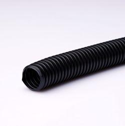 De zwarte Elektro Flexibele GolfPijp GolfBuis van de Pijp PE