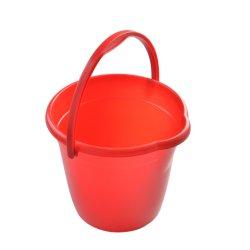 Corrosive-Resistant invencível de Serviço Pesado com Recipiente redondo 10,5L balde plástico Balde de limpeza de plástico
