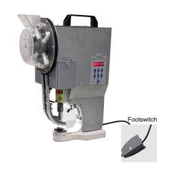 Подножка автоматическая электрическая Buttonhole Перфорирование машины дырокола с проушиной для баннера тент бумага без содержания ПВХ Упаковка Мешки