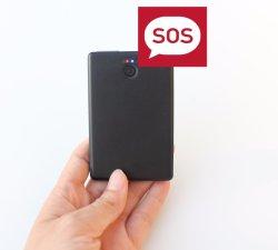 Asset Tracker GPS Soporte de Batería 1100mAh Sos Alarma, hablando de dos vías PT99-EZ