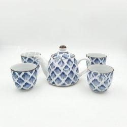 Hand-Farbanstrich keramische Teekanne und Tee-Cup/Teaset