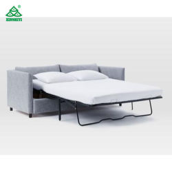 Design Europeu de canto sofá-cama baratas com tecido