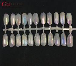 precio de fábrica de vidrio de camaleón en polvo para Aurora Nail Art Design