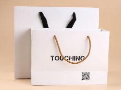Il sacchetto del Libro Bianco con il marchio ha stampato per acquisto