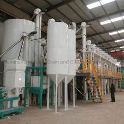 Voltooit de Automatische Machine van de Rijstfabrikant Rijst 50-100 die de Geïntegreerdeh Machine van het Malen van de Rijst schillen
