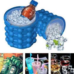 Silicone génio criador de cubos de gelo balde de gelo quadrado (JGK0024)