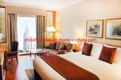 중국 주문 제작 현대적인 스타일의 5성급 원목 호텔 아파트먼트 가구 거실 침실 패브릭 킹 사이즈 침대 판매