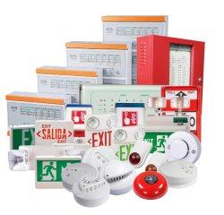 Système d'alarme incendie homologuées UL