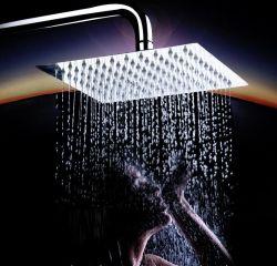 Badezimmer-Zubehör-Schwenker-Verbindungs-Quadrat-Niederschlag-obenliegendes Dusche-Kopf-Ionenfiltration-Hochdruckeinsparung-Wasser-Handdusche-Herbst-und Winter-Dusche-Kopf