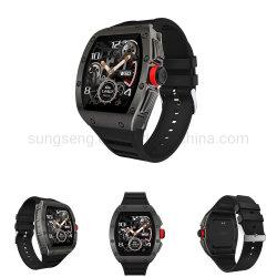Retro Reloj inteligente, para Android y ios teléfono inteligente Impermeable IP68 Reloj de pulsera con podómetro contador de pasos dormir Tracker para las Mujeres Los hombres ver teléfonos