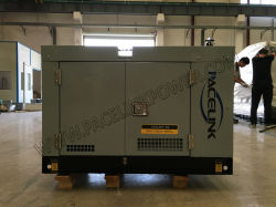 9kVA Kubota dreef Stille Diesel Generator aan/het Produceren van Reeks met Ce/ISO