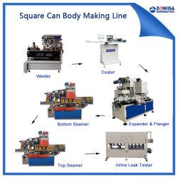 Металлическую тару машины - 1-5L квадратных краски Тин может органа оборудование