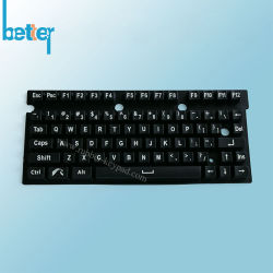 Portátil personalizado fábrica Cubierta del teclado de silicona Protector de teclado
