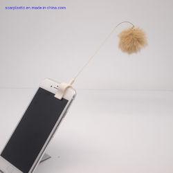 La promotion de l'injection moule en plastique Bébé Cadeaux Téléphone charme Clip en acier inoxydable et plastique