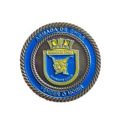 Высококачественные металлические монеты ВМС США с золотым покрытием (YB-C-035)