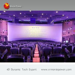 Elegante e confortevole cinemare 5D con effetti cinematografici 4D