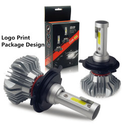 Haut super lumineux des feux de croisement 6000lm sans ventilateur H4 LED H7 Lampe H7 automatique des projecteurs