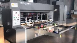 Hrb-1424 automática de alta velocidad el borde delantero de la máquina de corte con troquel rotativo de corte de caja de pizza y la máquina de formación