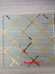 3-6 mm de diseño decorativo Arte de vidrio para ventanas de Cocina