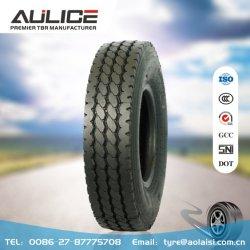 12.00R20 gros pneu avec TBR DOT et les certificats utilisés sur le SNI de position de roue avec un kilométrage élevé.