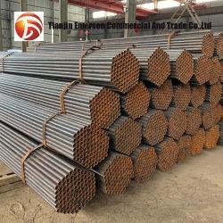 Ronda de tubo galvanizado/tubos de acero soldado negro tubo Tubo de acero de superficie