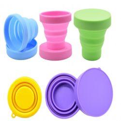 Съемные силиконовая чашка складные стерилизации чашки для менструального цикла наружное кольцо подшипника