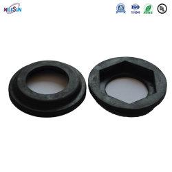 Arruela de espuma de cor preta fabricante silício de material