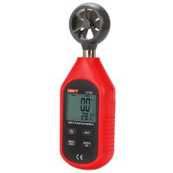 Geräten-Windgeschwindigkeit-Fühler-bewegliches Minianemometer Ut363