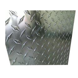 5083 5754 미끄럼 방지 바닥용 알루미늄 Chequered Steel Plate