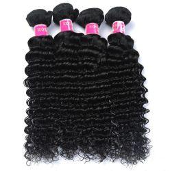 Capelli umani della fabbrica 10A dei capelli brasiliani cinesi del Virgin che tessono doppi capelli di trama