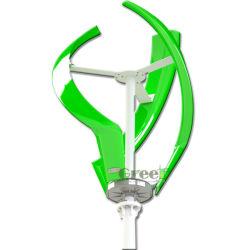 turbina di vento verticale di velocità del vento bassa sicura leggera 200W per il sistema di su-Griglia della sosta
