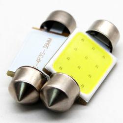 مصباح فستون COB فائق السطوع 31 مم 36 مم 39 مم 41 مم مصباح LED للسيارة مصباح القراءة لوحة مصابيح الإضاءة