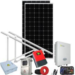 3000 Watt Système complet de gros de l'énergie solaire bifaciaux étanche sur onduleur sur réseau//