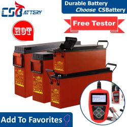 Telecommunicatie-Post/zonne-Systeem/huis-macht-Bank/mededeling-Equipments/Csk van de Batterij van het Gel van Csbattery 12V 55ah/80ah/100ah/150ah/180ah/200ah de het de voor-toegang-eind-Slanke