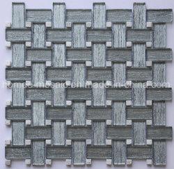 家の装飾のための新しいパターンワイヤーデッサンの石の組合せのガラスモザイク