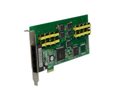 16 lignes PcieEnregistreur vocal téléphonique/ système d'enregistrement téléphonique PCIE