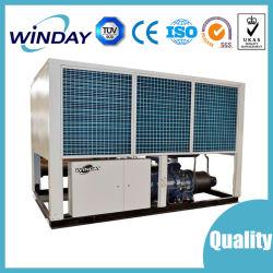 Climatiseur vis refroidi par air du refroidisseur et la pompe à chaleur pour une utilisation industrielle R134d'un refroidisseur refroidisseur du compresseur en usine