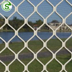 Puder-überzogenes Aluminiumdiamant-Ineinander greifen-Sicherheits-Bildschirme Amplimesh Gitter für Fenster