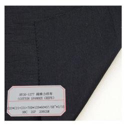 Katoenen Spandex crêpe Kleding kleding stof